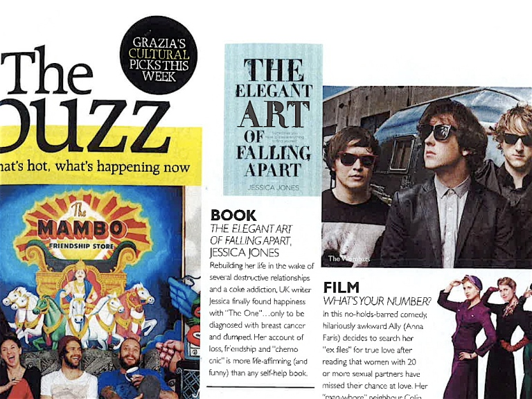 The Elegant Art of Falling Apart Grazia review